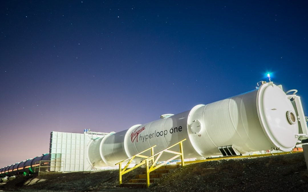 Virgin Hyperloop One wants to link cities in megaregions