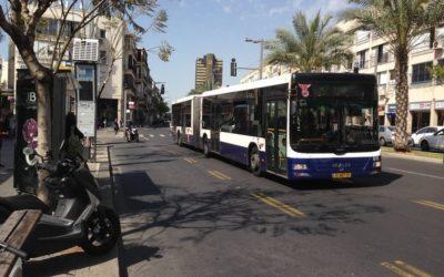 Free Public Transport on Saturdays in Tel Aviv.