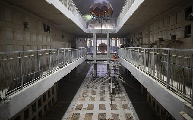 Un cimetière souterrain ultra-moderne inauguré à Jérusalem
