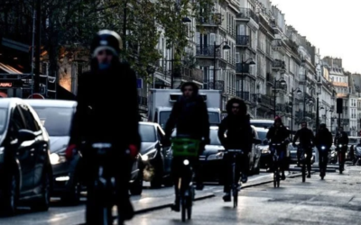 Bike Lanes are Transforming Paris