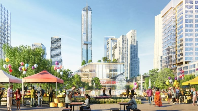Plan to create whole new city centre in Mississauga (Toronto area)