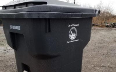 New SMART trash bins are landing in Wilmington this week