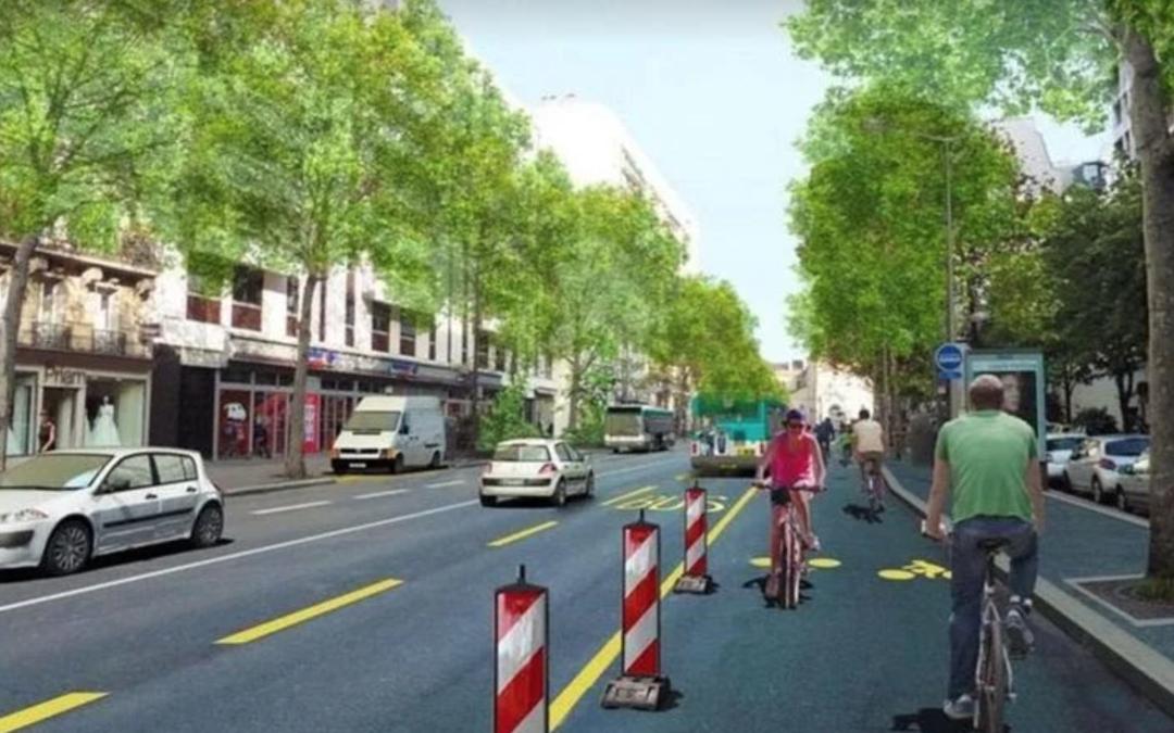650 kilometers of Cycleways for post-Lockdown Paris
