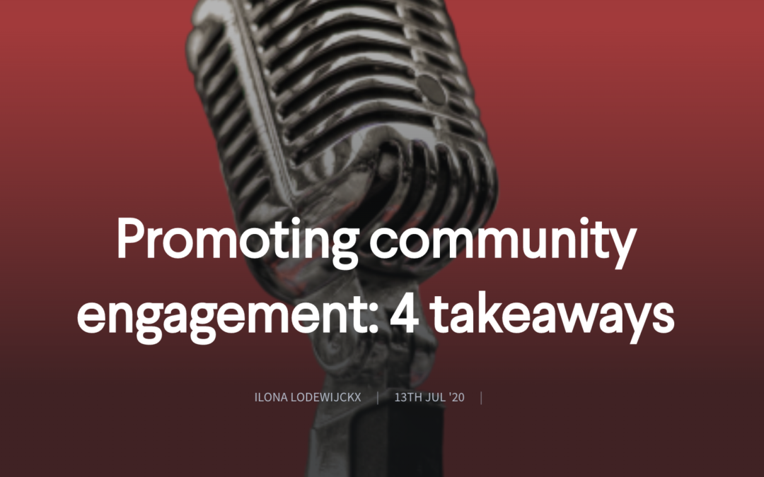 Promoting community engagement