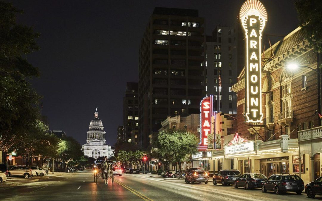 Gauging the quality of life in  Austin, Texas.