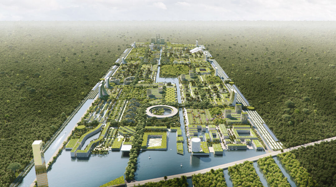 Stefano Boeri designs visionary 'smart forest city' for Cancun