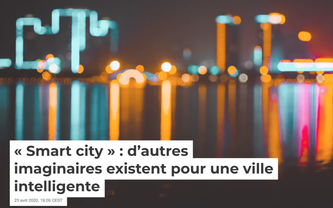 Imaginaires pour une ville intelligente